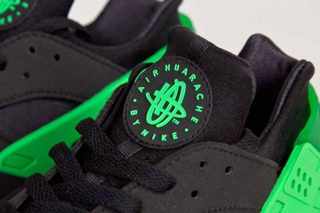 Nike Huarache Fb Poison Green 1