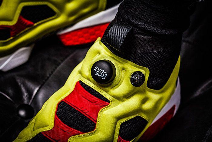 On Feet Reebok Insta Pump Fury Ultk 6