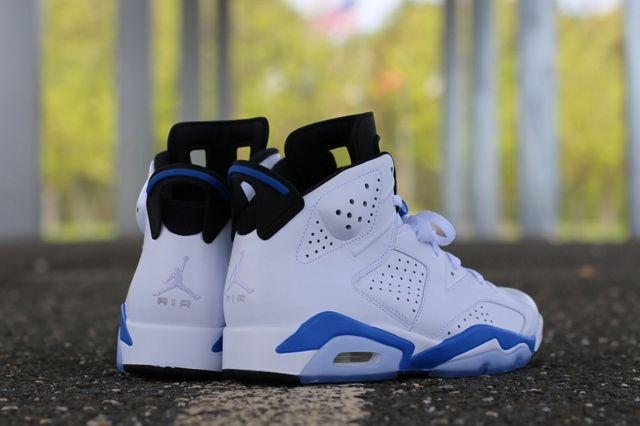 Air Jordan 6 Sport Blue 8