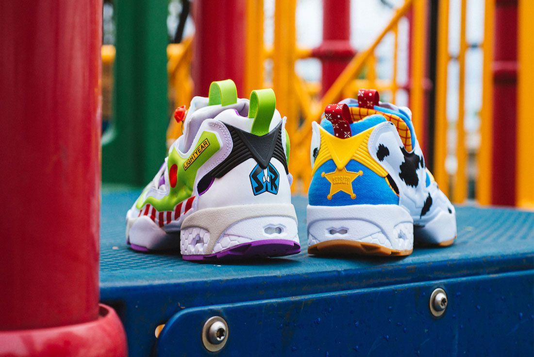 BAIT x Toy Story x Reebok Instapump Fury