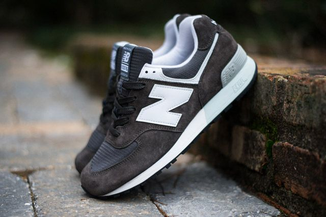 Nordstrom X Newbalance576 Brown Sideview2
