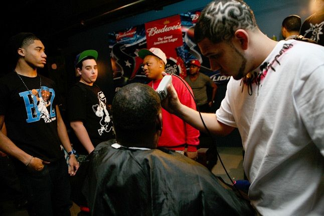 Barber Shop H Town Sneaker 1