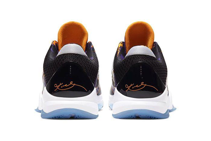 Nike Kobe 5 Protro Lakers Heel
