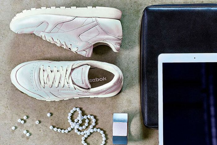 Reebok Classic Leather Pearl Pack Womens White 1