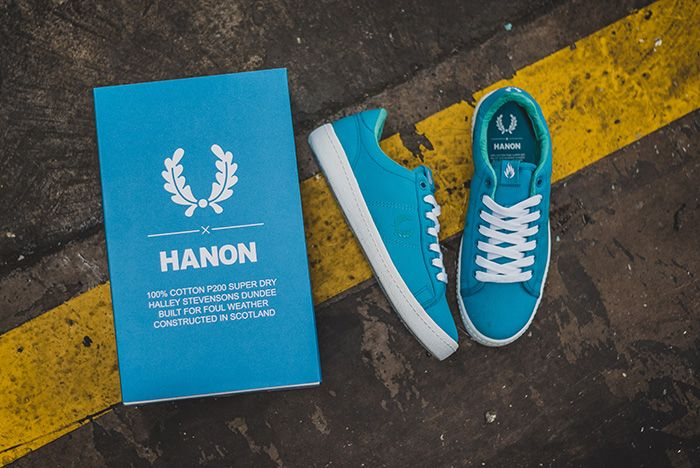 Hanon X Fred Perry 1