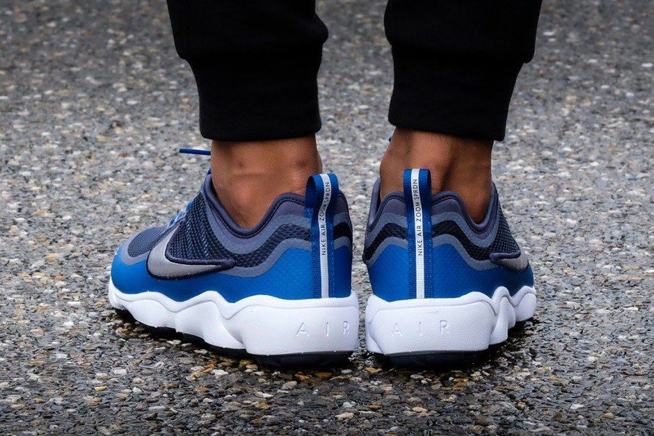 Nike Air Spiridon Ultra Metallic Silver Blue 3