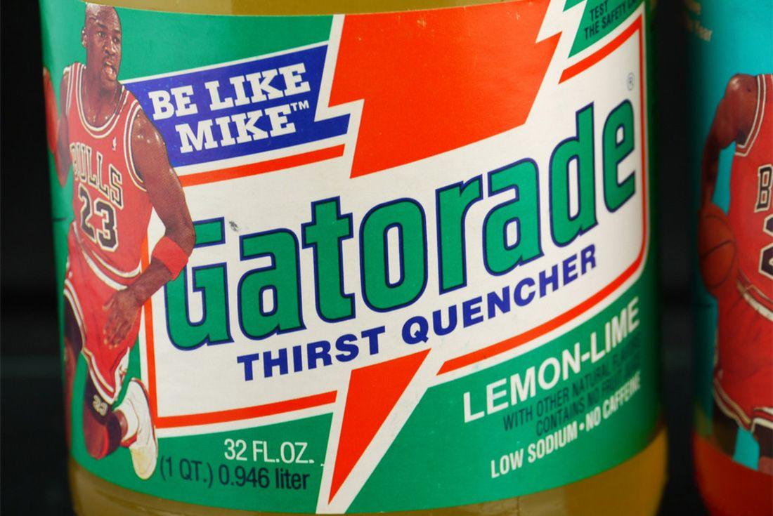 Michael Jordan Gatorade Drink Be Like Mike 1992 Bottle Vintage Sneaker Freaker 3