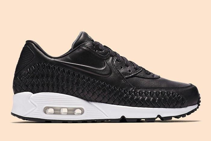 Nike Air Max 90 Woven Black White 5