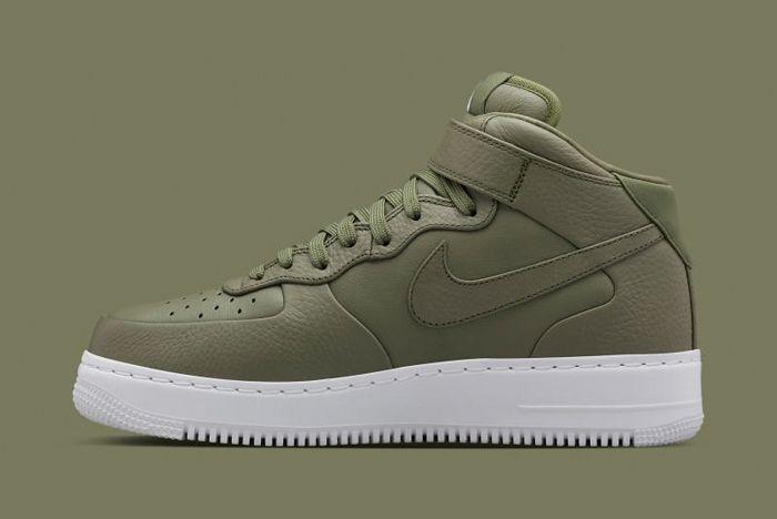 Nike Lab Monochrome Air Force Pack 4