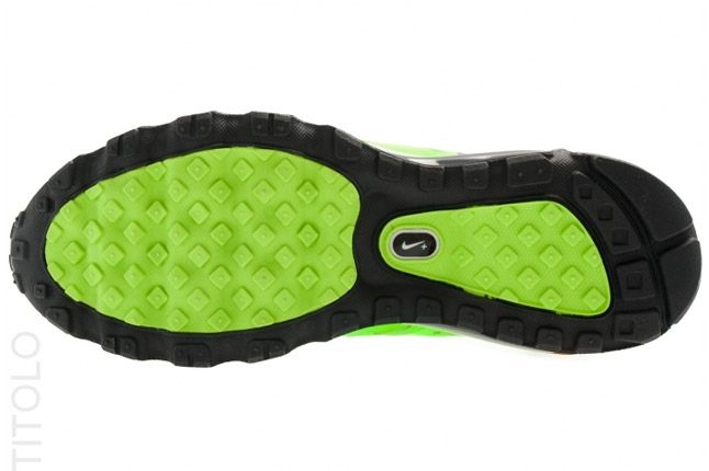 Nike Air Max 2012 Electric Green Sole 1