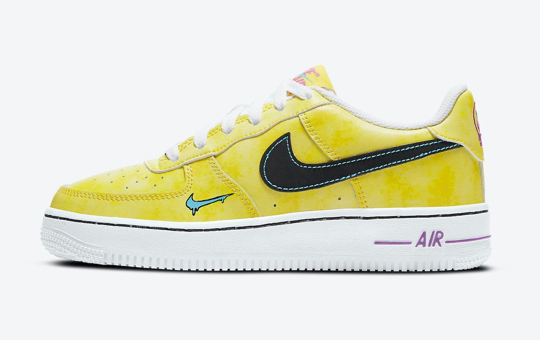 Nike Air Force 1 Peace Love and Basketball Left