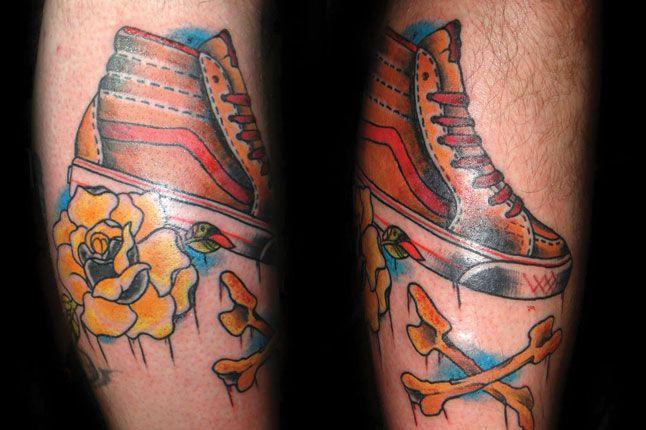 Colourful Vans On Leg 1