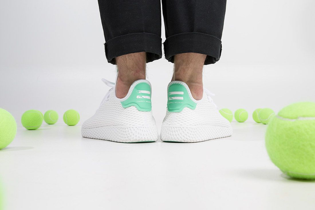 Adidas Pharrell Tennis Hu On Feet 9