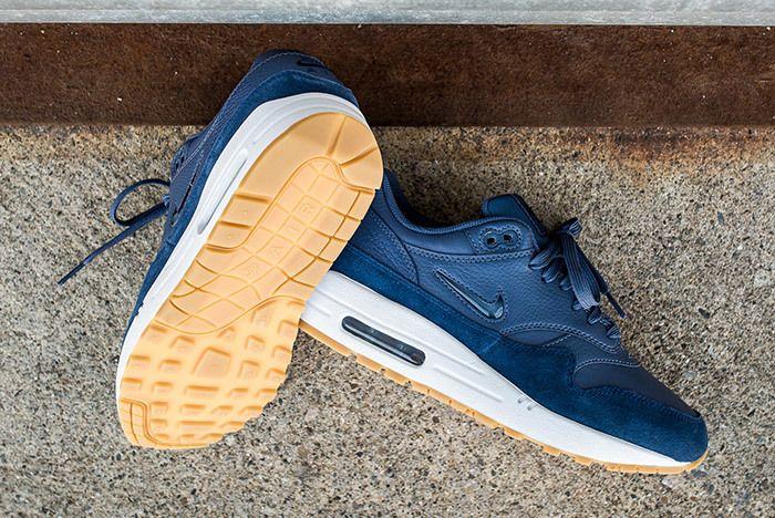 Nike Air Max 1 Jewel Womens Blue 1