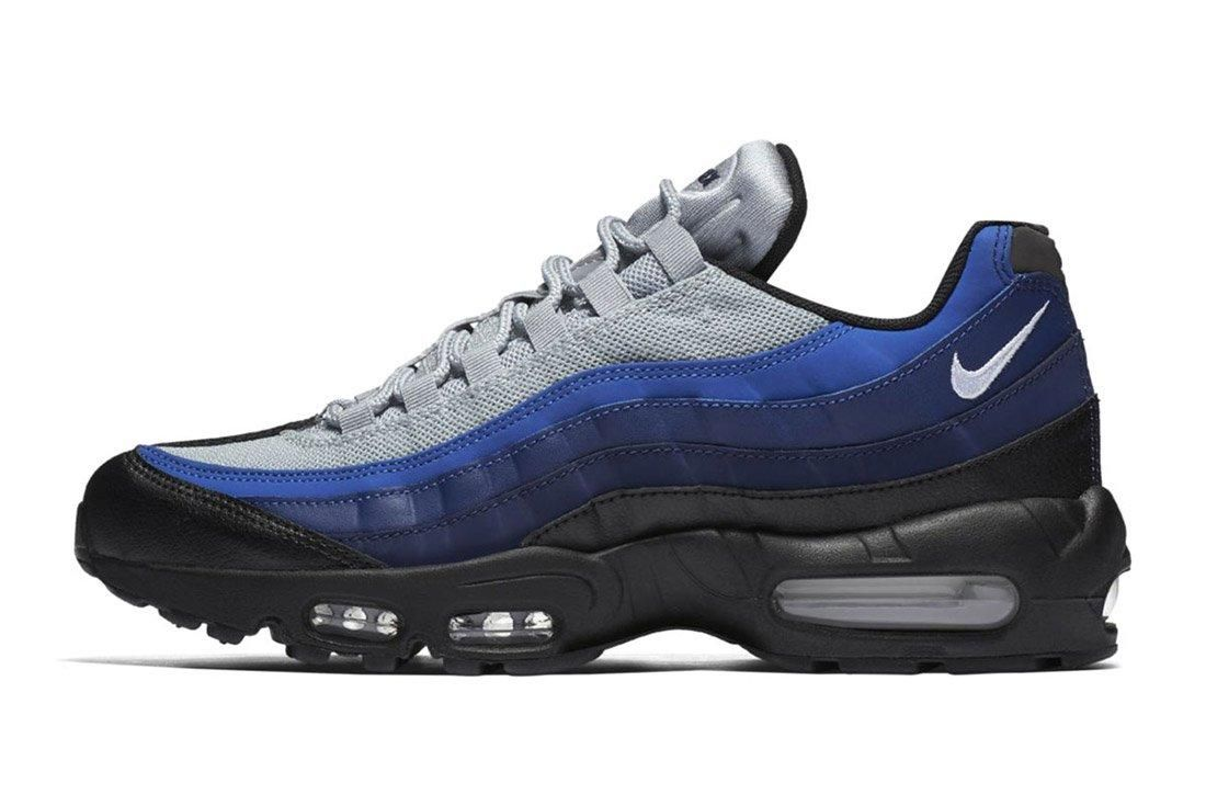 Bike Air Max 95 Essential Black Binary Blue Royal 4