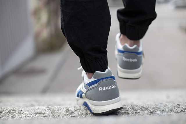 Reebok Ventilator Supreme On Foot 4