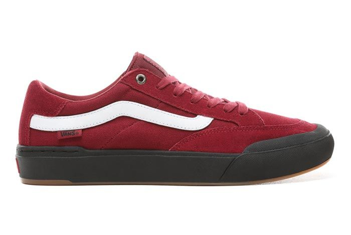 Vans Berle Pro Rumba Red Lateral