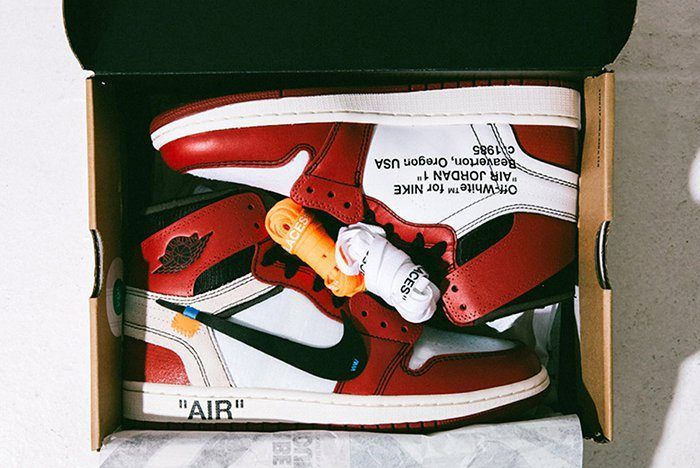 Air Jordan 1 Box Packaging