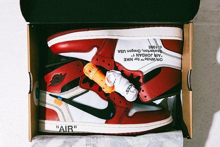 Air Jordan 1 Box Packaging