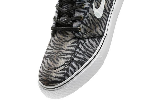 Nike Sb Zoom Stefan Janoski Tiger Pack Greyscale Toebox