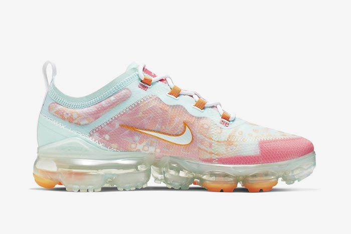 Nike Air Vapormax 2019 Pink Orange Medial