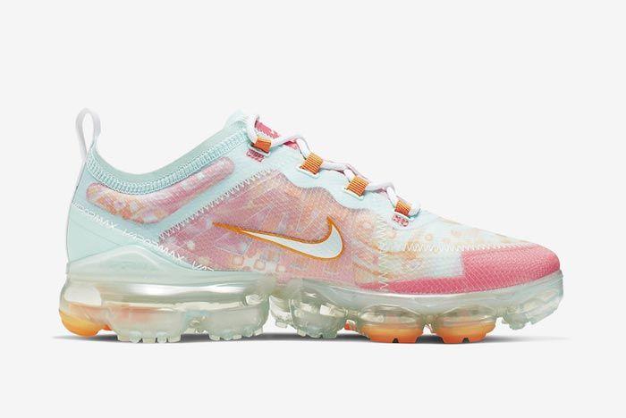 Nike Air Vapormax 2019 Pink Orange Medial
