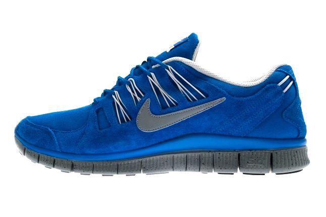 Nike Free 5 Ext Hyper Blue Side 1