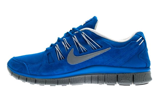 Nike Free 5 Ext Hyper Blue Side 1