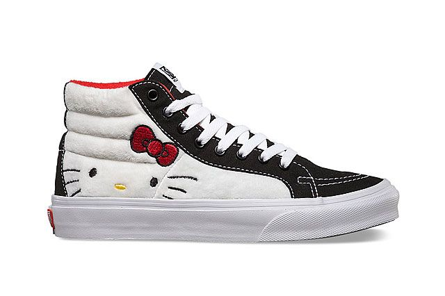 Hello Kitty X Vans Summer 2014 Collection Sk8 Hi 1
