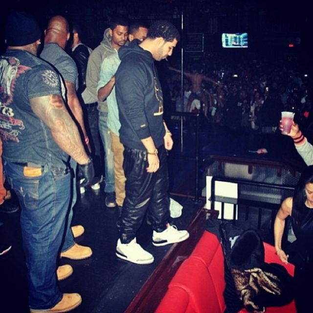 Drake Sneaker Style Profile Air Jordan 3 Strip Club