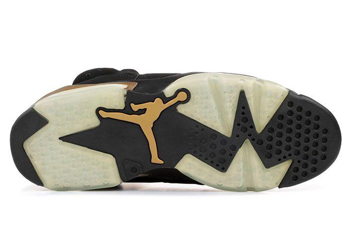 Air Jordan 6 Dmp Defining Moments 2020 Black Gold Release Date 3 Sole