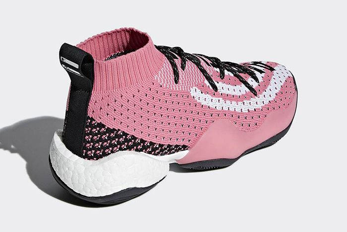 Pharrell Adidas Crazy Byw Ambition Pink White G28183 5 Sneaker Freaker