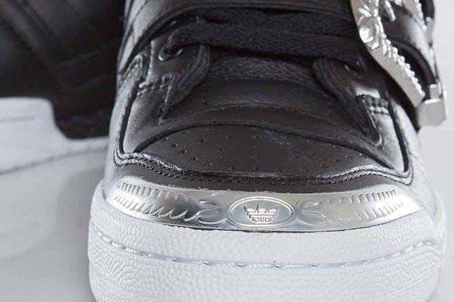 Silver Toe Adidas Forum 1