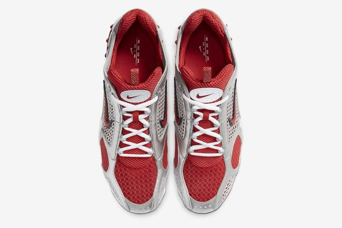Nike Air Zoom Spiridon Caged Varsity Red Top