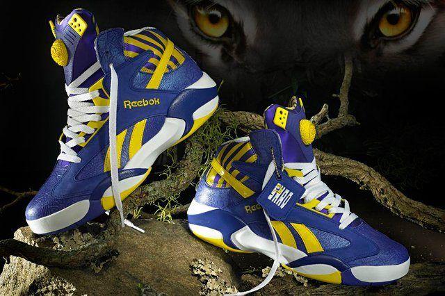 Reebok Classic Shaq Attaq Lakers 6