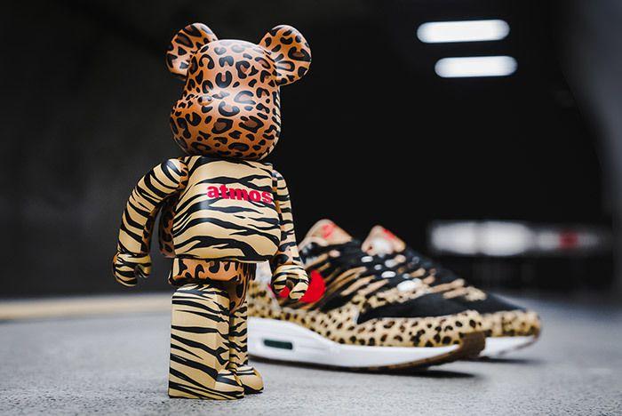 Nike Air Max 1 95 Animal Pack 2 0 Be@ Rbrick Bearbrick 100 400 2