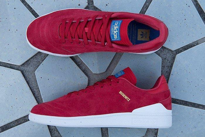 Adidas Busenitz Rx Red 1