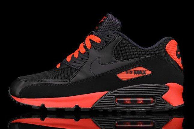 Nike Air Max 90 Red Black 1