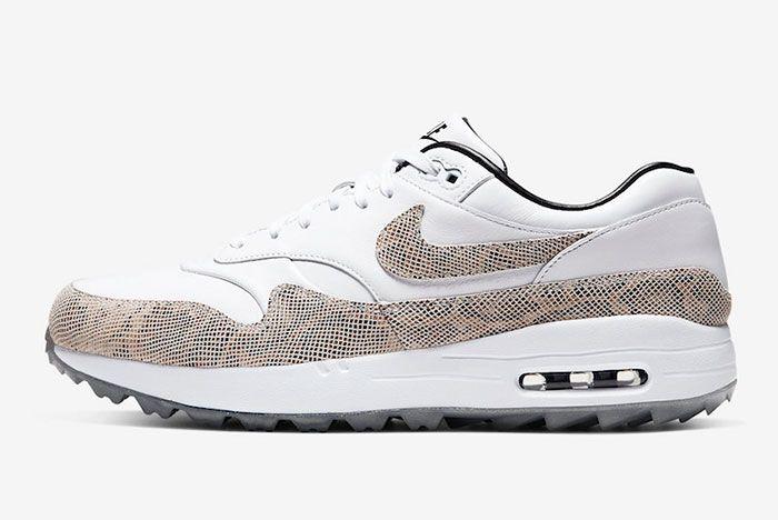 Nike Air Max 1 Golf Nrg Snakeskin Ci6876 101 Release Dateside