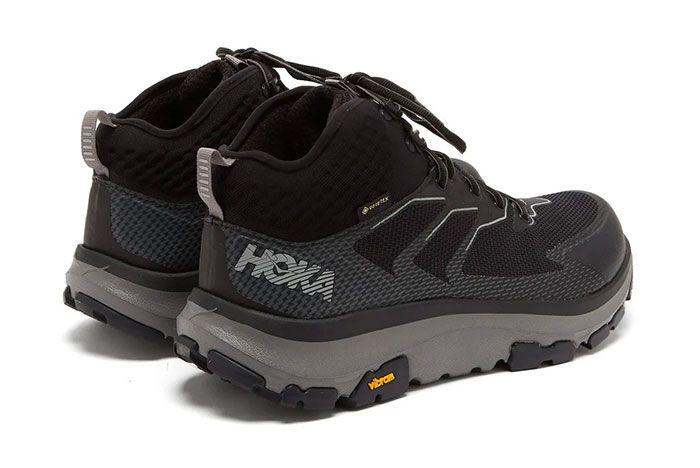 Hoka One One Sky Toa Technical Hiking Boots Three Quarter Laterla Side Shot