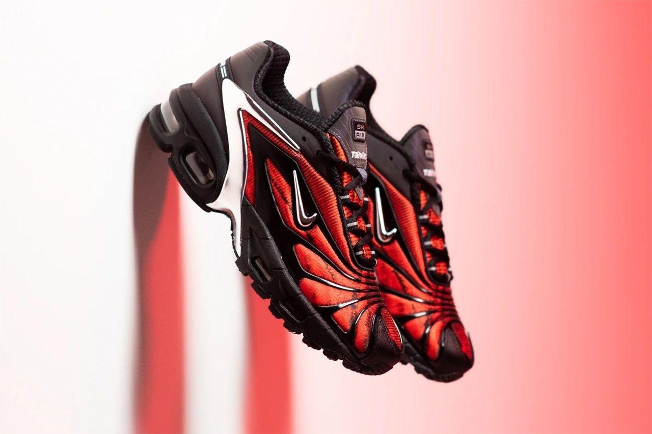 Up-Close: Skepta x Nike Tailwind 5 'Bloody Chrome'