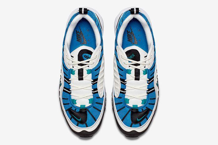 Nike Air Max 98 Blue 7
