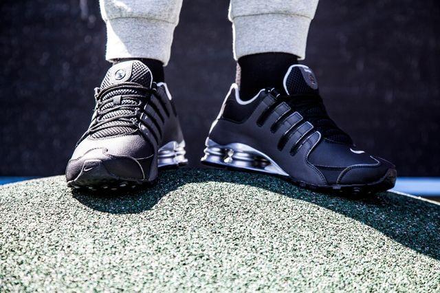 Nike Shox Black Silver Anthracite 2