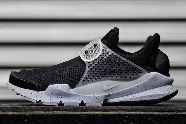 Fragment Design Nike Sock Dart Black 5
