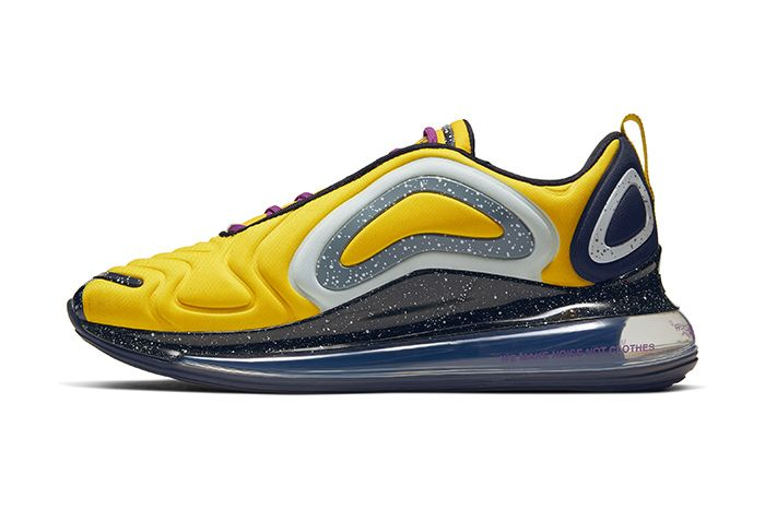 Undercover Nike Air Max 720 Yellow Release Date Lateral