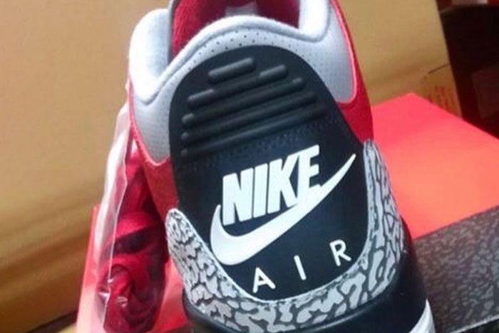 Air Jordan 3 Red Cement Ck5692 600 Release Date 2Leak