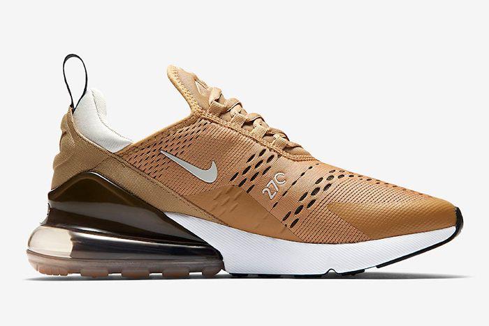 Nike Air Max 270 Elemental Gold Ah8050 700 Release Date Side Sneaker Freaker