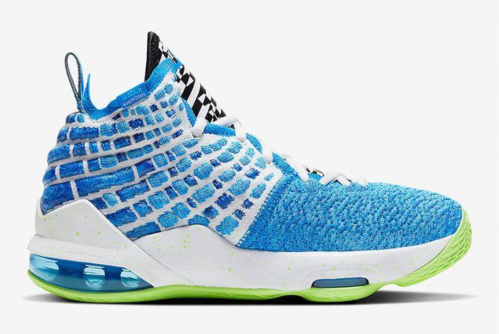 Nike Lebron 17 Photo Blue Right