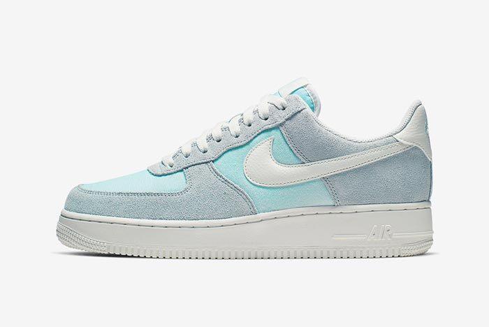 Nike Air Force 1 Ghost Aqua Lateral