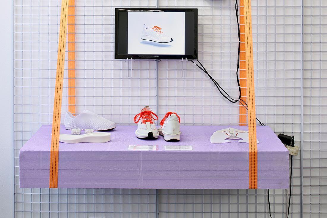 Mudac Sneaker Colab Purple
